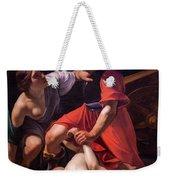 Cupid Chastised, Disdain Weekender Tote Bag