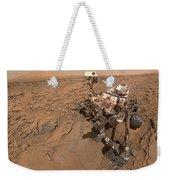 Curiosity Selfie Weekender Tote Bag