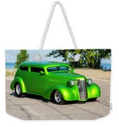 Custom 1938 Chevrolet 2 Door Coach  Weekender Tote Bag