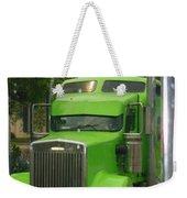 Custom Green Boca Weekender Tote Bag