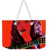 Custom Halloween Card She-devil Weekender Tote Bag