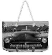 Customized 1950 Mercury In Bw Weekender Tote Bag