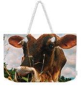 Dairy Cow Weekender Tote Bag