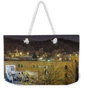 Dale Earnhardt Mural And Christmas Star Weekender Tote Bag