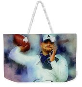 Dallas Cowboys.dak Prescott. Weekender Tote Bag
