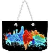 Dallas Neon Color Blast Weekender Tote Bag