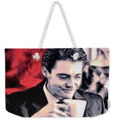 Damn Fine Cup Of Coffee Weekender Tote Bag