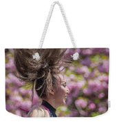 Dancing And Cherry Blossoms Weekender Tote Bag