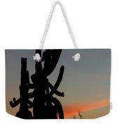 Dancing Saguaro Cactus Weekender Tote Bag