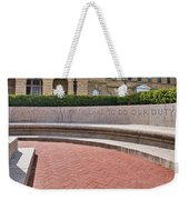 dare to do our duty - Madison -Wisconsin Weekender Tote Bag