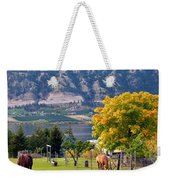 Days Of Autumn 25 Weekender Tote Bag