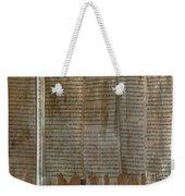 Dead Sea Scroll Weekender Tote Bag