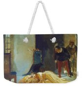 Death Of Imelda Lambertatstsi Weekender Tote Bag