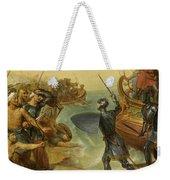 Debarquement De Saint Louis, A Damiette En Egypte, 1249 Weekender Tote Bag