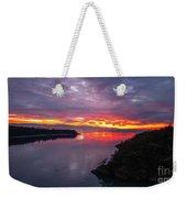 Deception Pass Sunset Landscape Weekender Tote Bag