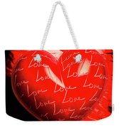 Decorated Romance Weekender Tote Bag