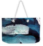 Deep Blue #3 Weekender Tote Bag by Maria Langgle