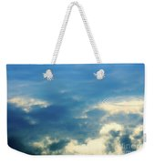 Deep Blue Sky Weekender Tote Bag