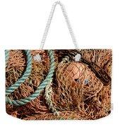 Deep Sea Fishing Nets And Buoys Weekender Tote Bag