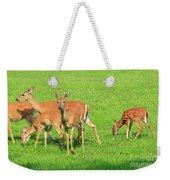 Deer Looking At You Weekender Tote Bag