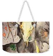 Deer Skull Weekender Tote Bag