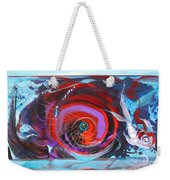 Depression And Me Two Fishes Weekender Tote Bag