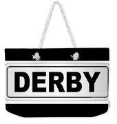 Derby City Nameplate Weekender Tote Bag