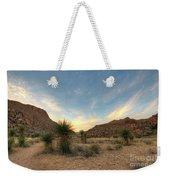 Desert Hike Weekender Tote Bag