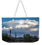 Portait Of A Thunderstorm Weekender Tote Bag