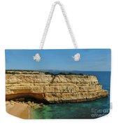 Deserta Beach Scene In Algarve Weekender Tote Bag