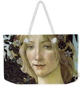 Detail From The Primavera, Circa 1478, Tempera On Panel Weekender Tote Bag