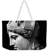 Detail Of The Face Of Athena Farnese Weekender Tote Bag