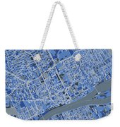 Detroit Map Retro 5 Weekender Tote Bag