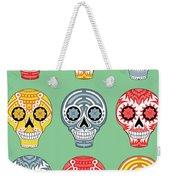 Dia De Muertos Skulls Weekender Tote Bag