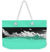 Diamond Head Crater In Abstract Weekender Tote Bag