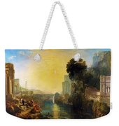 Dido Who Builds Carthage - Digital Remastered Edition Weekender Tote Bag