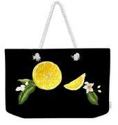 Digital Citrus Weekender Tote Bag