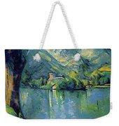 Lake Annecy - Digital Remastered Edition Weekender Tote Bag