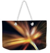Dill Flower Abstract Weekender Tote Bag