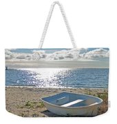 Dinghy On A Sunny Beach Weekender Tote Bag