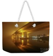 Disappearing Bridge Weekender Tote Bag by Tom Claud