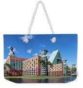 Disney Dolphin Hotel Weekender Tote Bag