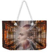 Distracted By Thoughts Weekender Tote Bag