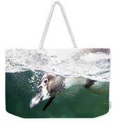Dive Penguin Dive Weekender Tote Bag