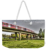 Docklands Light Railway Train  Weekender Tote Bag