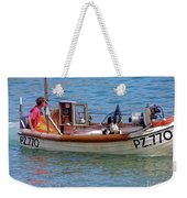 Doggone Fishin Weekender Tote Bag