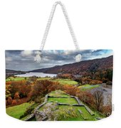 Dolbadarn Castle View Weekender Tote Bag