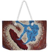 Don Quixote On A Surfboard Weekender Tote Bag