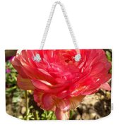 Double Coloured Rose Weekender Tote Bag