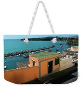 Downhill To The Harbour Weekender Tote Bag